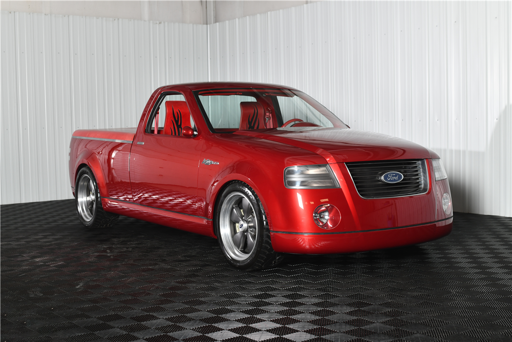 2001 Ford F-150 Lightning Rod concept 3/4 front