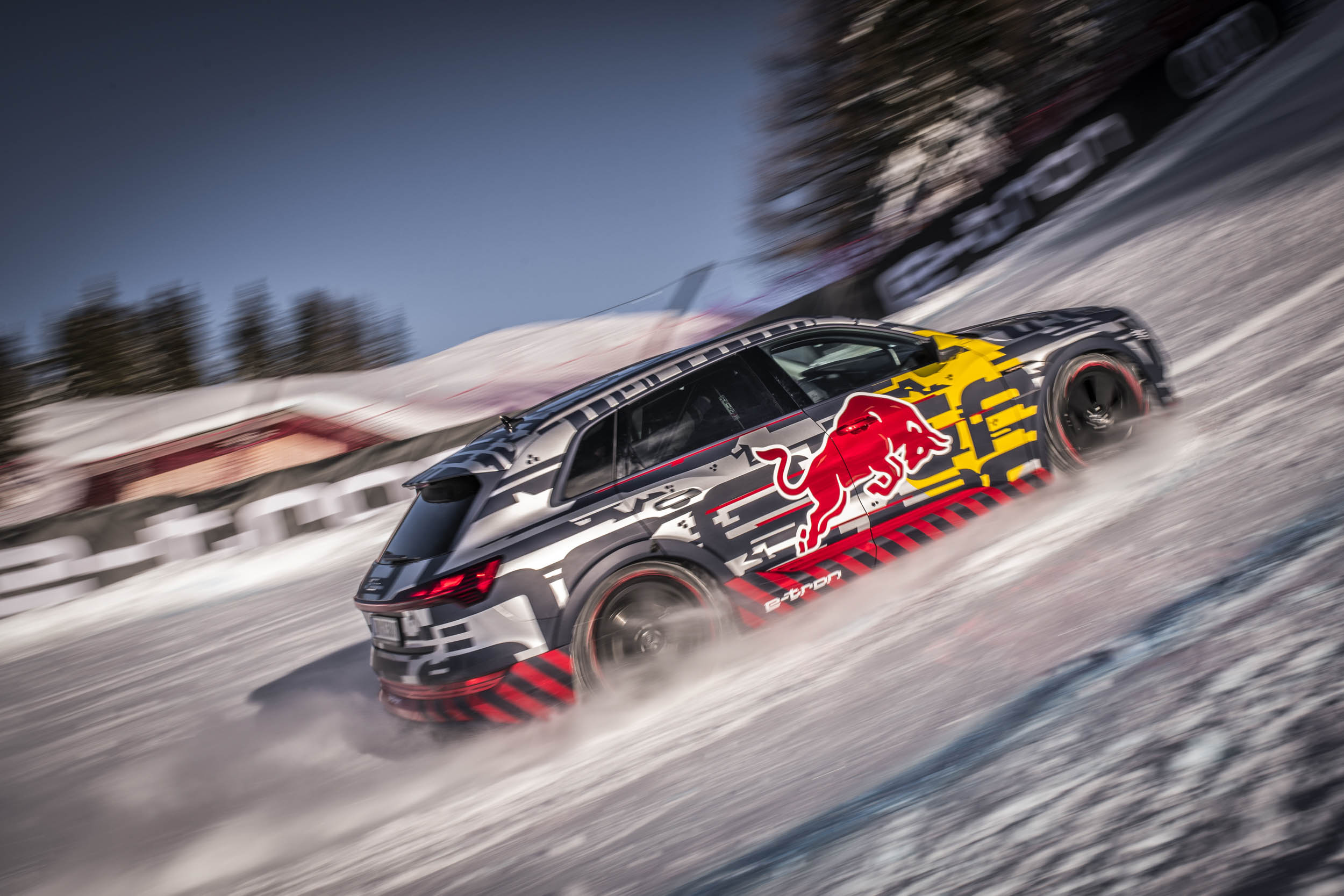 Audi revamps famous Quattro ski jump ad with all-electric e-tron SUV thumbnail