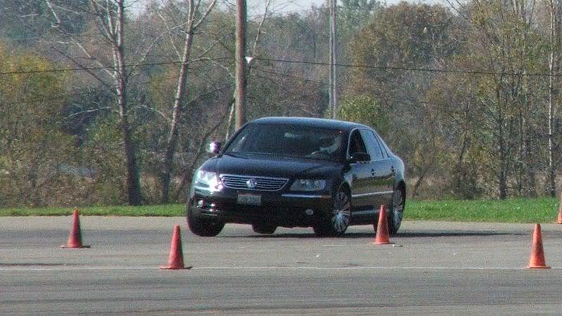 wheel jump in a VW Phaeton