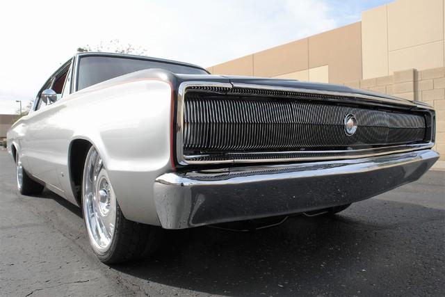 1967 Dodge Charger Chip Foose Overhaulin' SEMA Car low grille shot