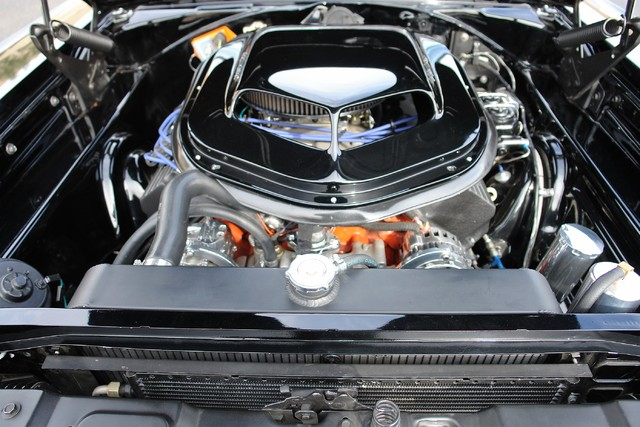 1967 Dodge Charger Chip Foose Overhaulin' engine