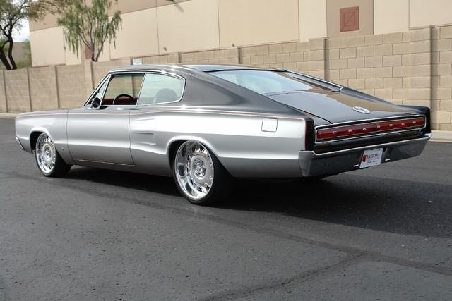 1967 Dodge Charger Chip Foose Overhaulin' SEMA Car rear 3/4