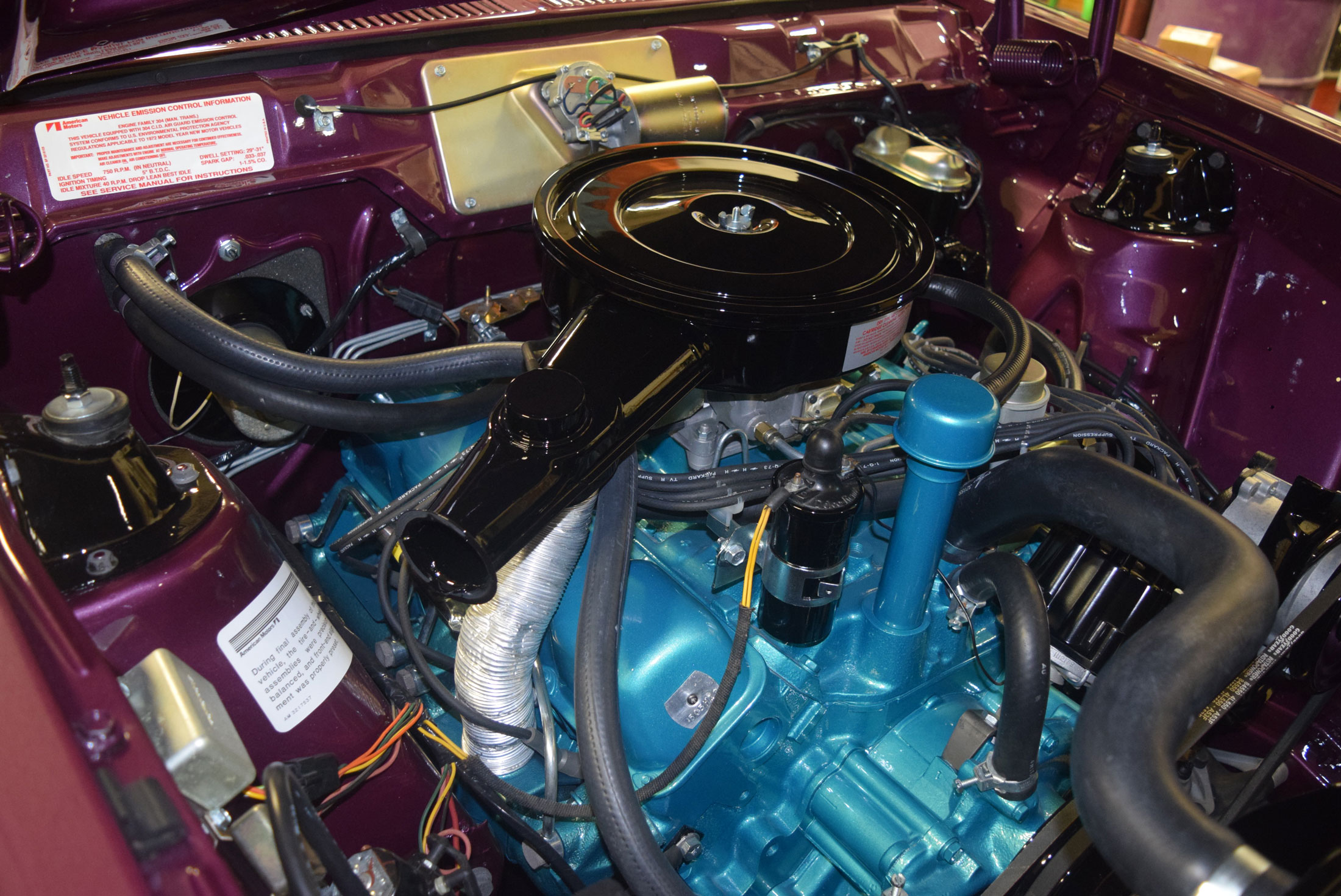 Brothers Collection Gremlin X 304 V-8 engine