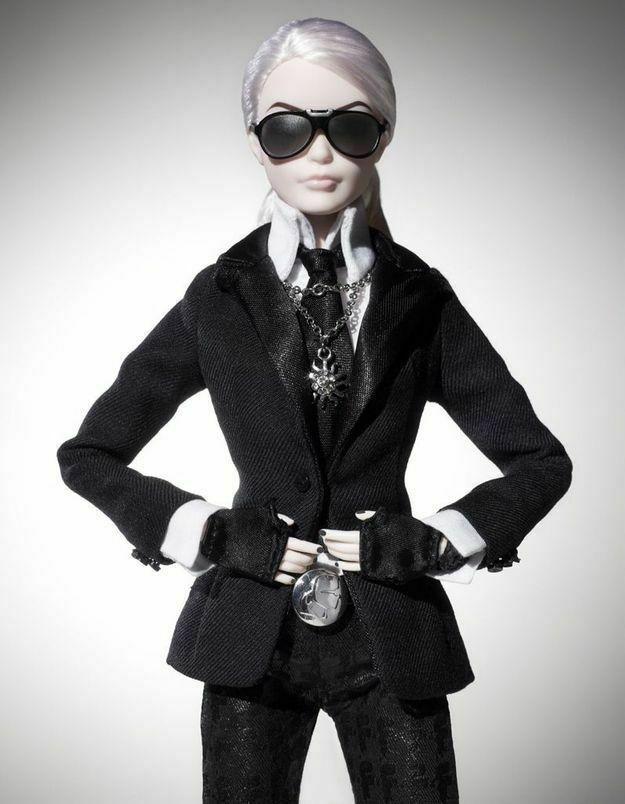 Lagerfeld Barbie