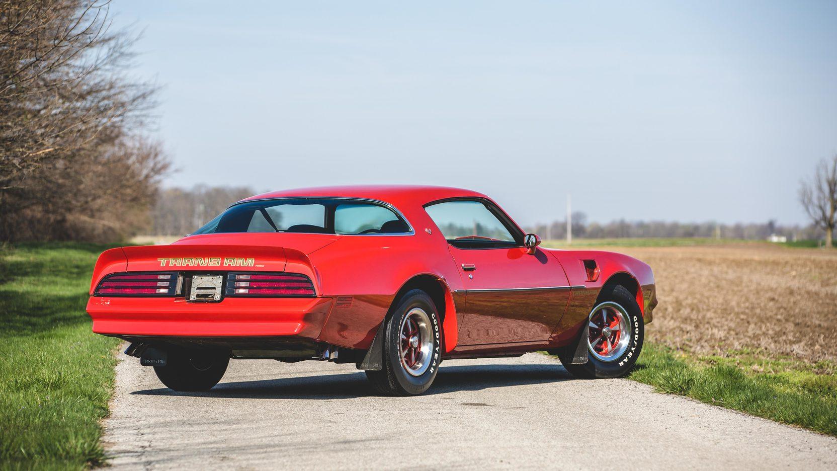 1978 Pontiac Firebird Trans Am 3/4 rear
