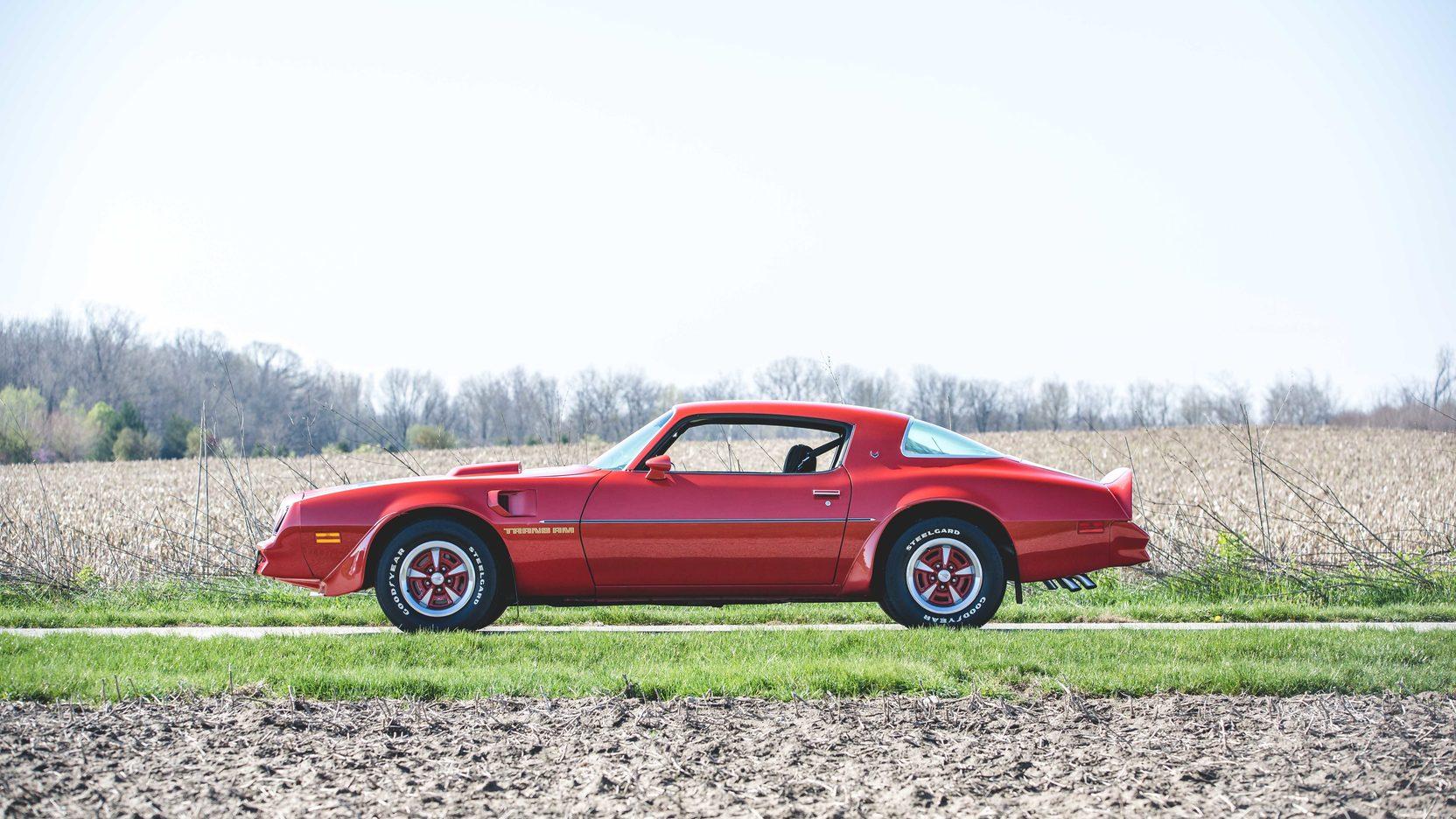 1978 Pontiac Firebird Trans Am profile