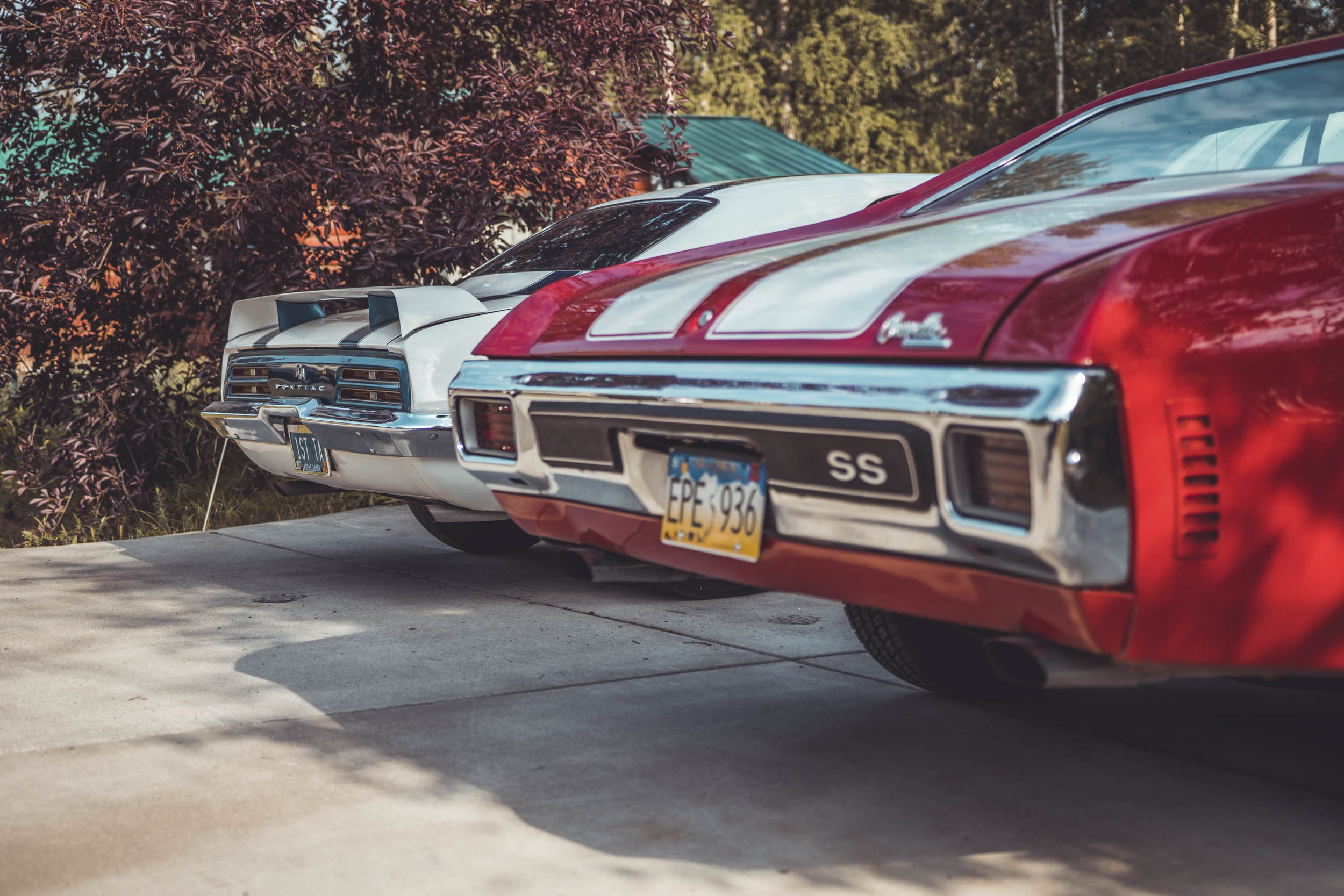 Classic Muscle cars found in Alaska