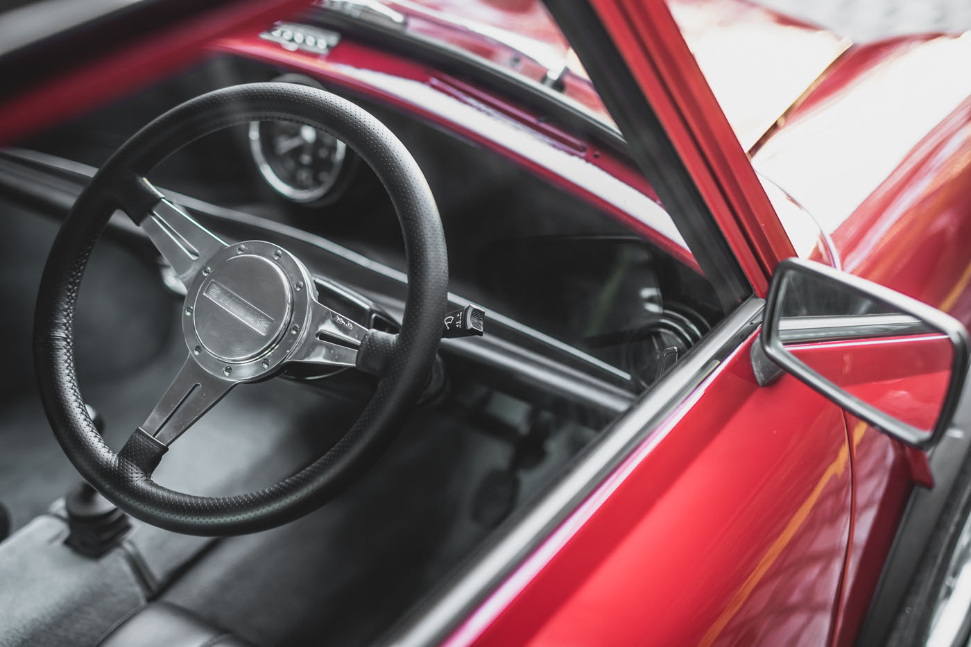 E Classic Mini steering wheel