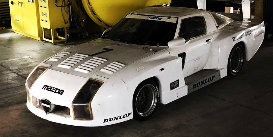 RX-7 Le Mans Car found in Japan