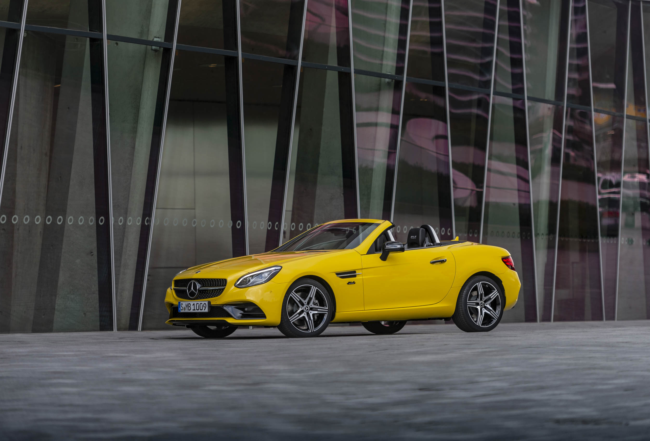 Mercedes says farewell to the SLC with this Final Edition