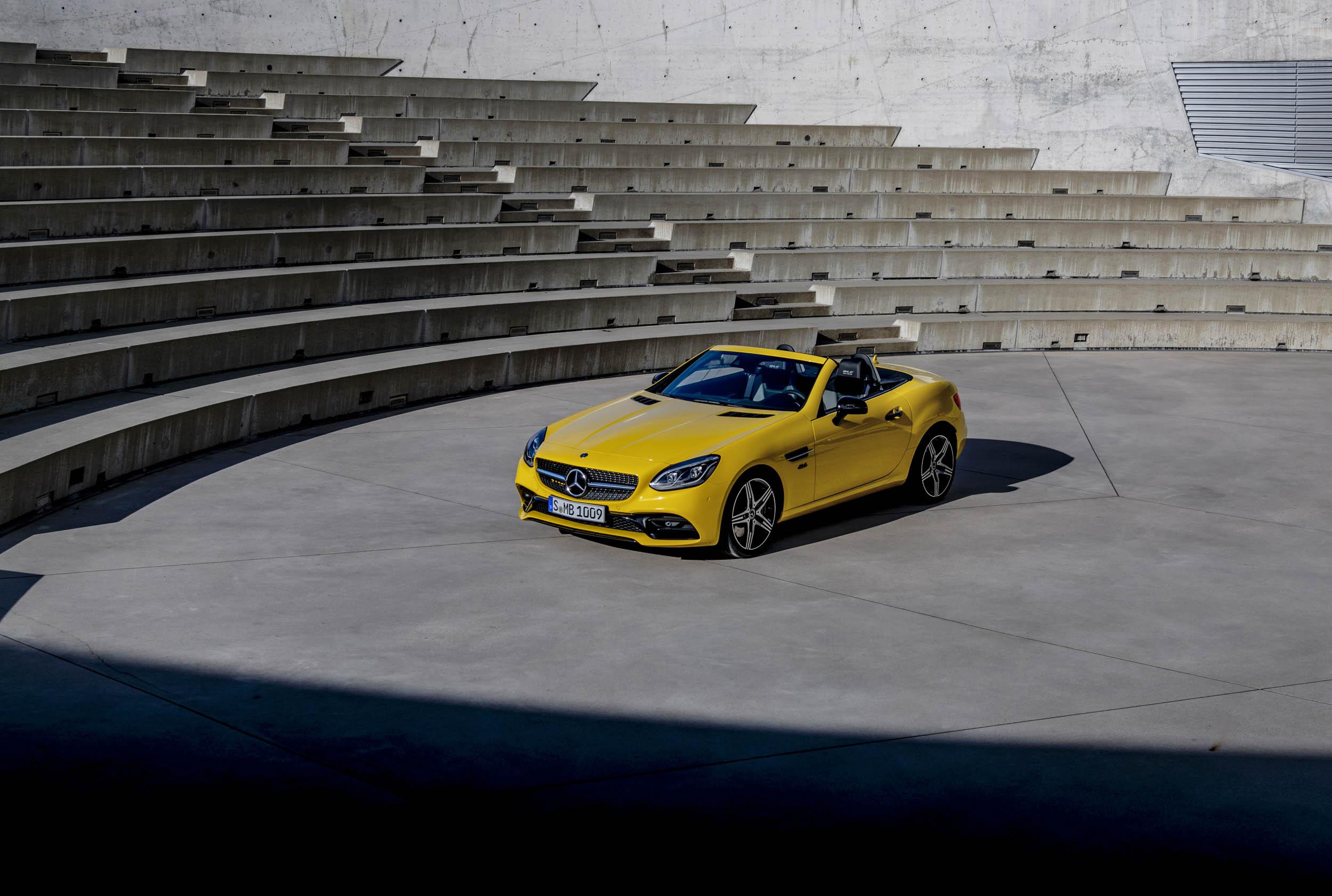 2020 Mercedes-Benz SLC Final Edition overhead