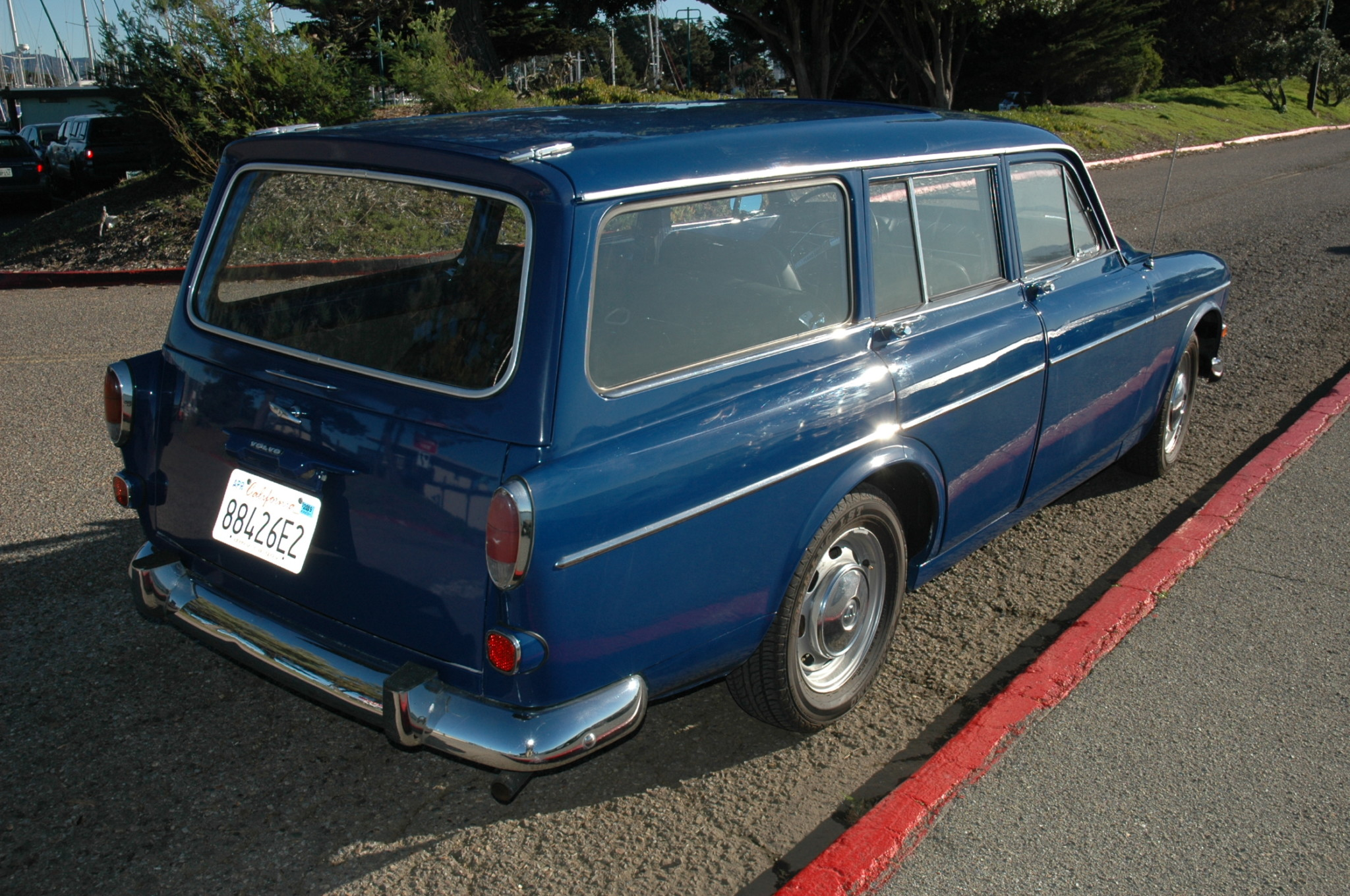 1967 Volvo 122S Wagon rear 3/4