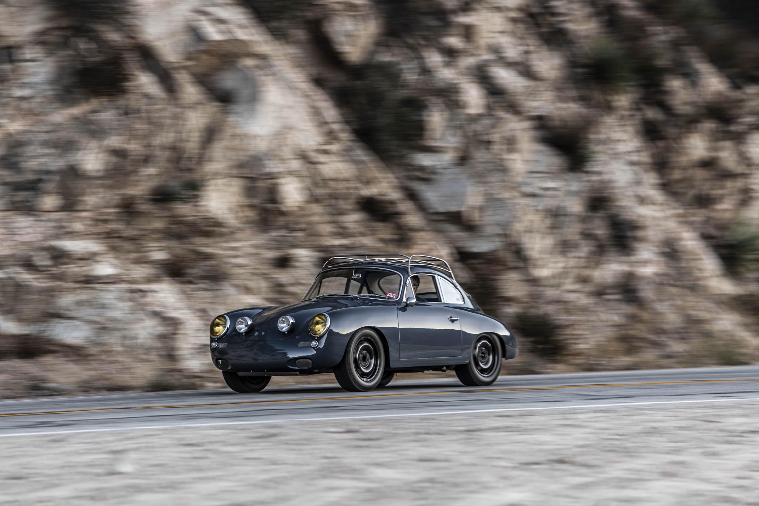 Emory Porsche 356 C4S Allrad driving