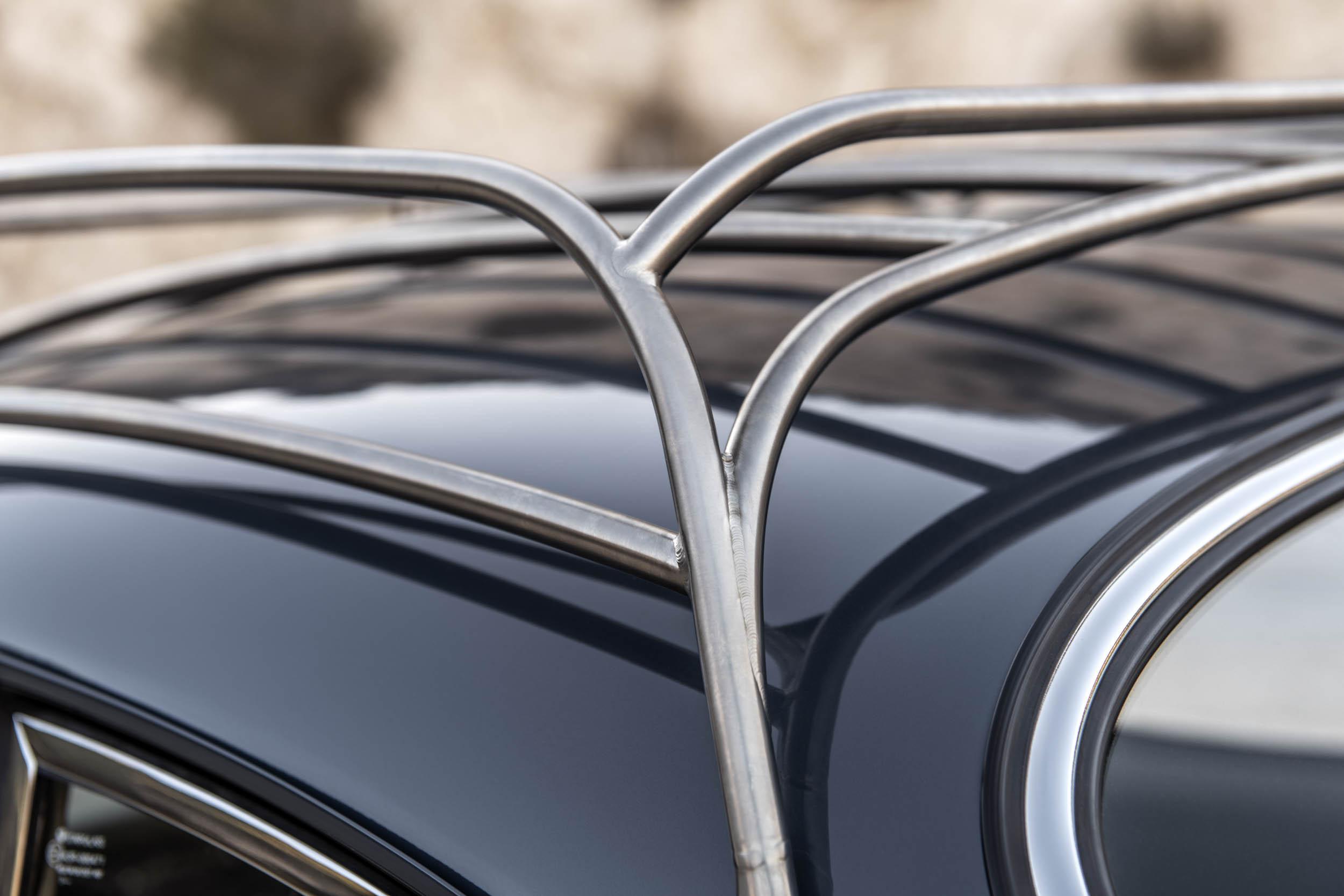 Emory Porsche 356 C4S Allrad roof rack welds