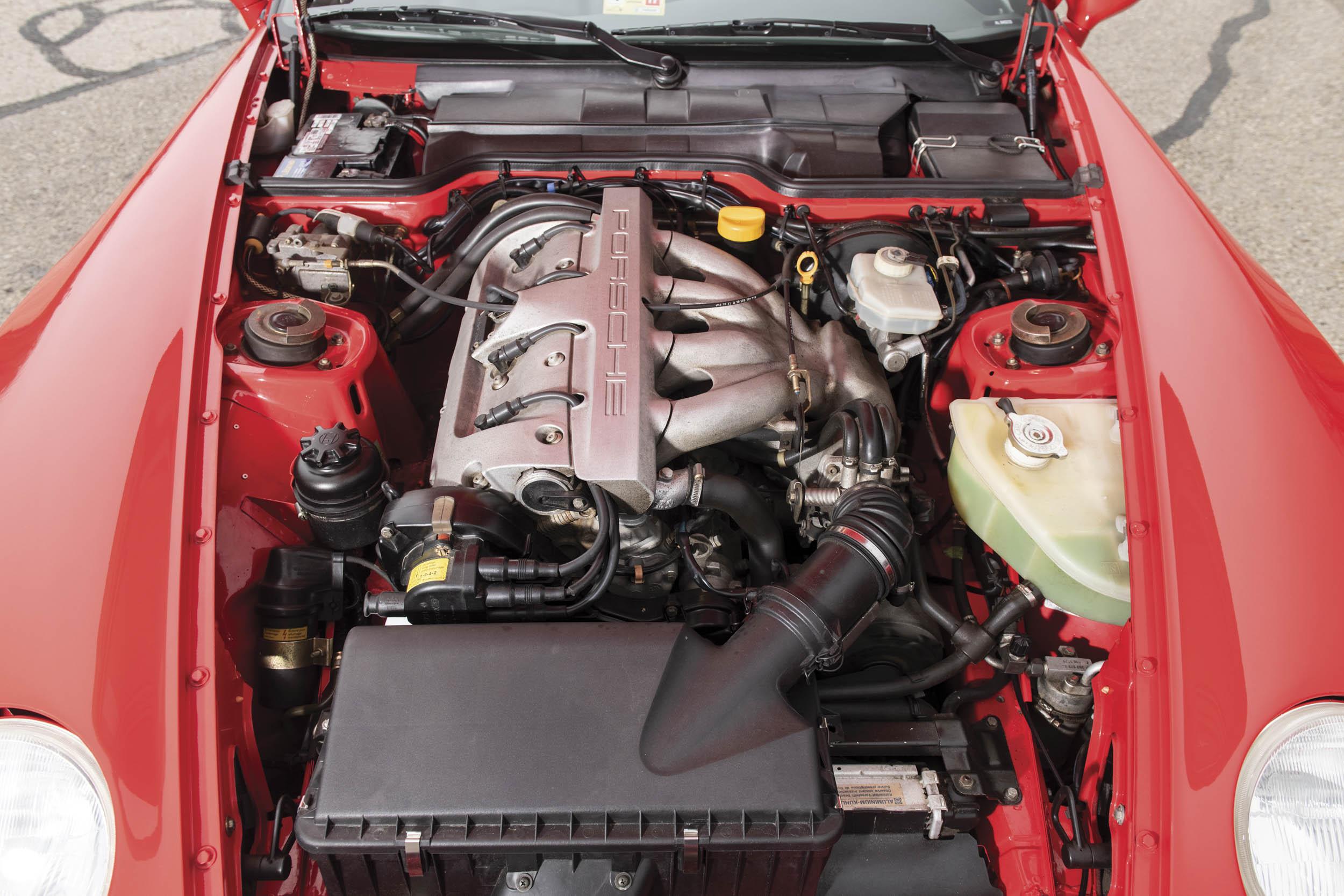 1995 Porsche 968 engine