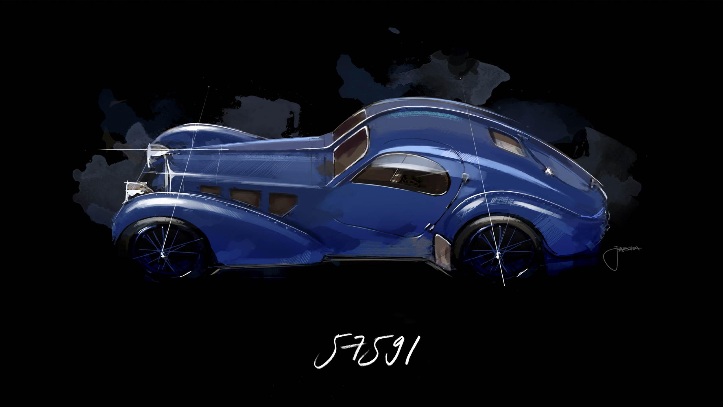 Bugatti Atlantic Chassis 57591, The Pope Car