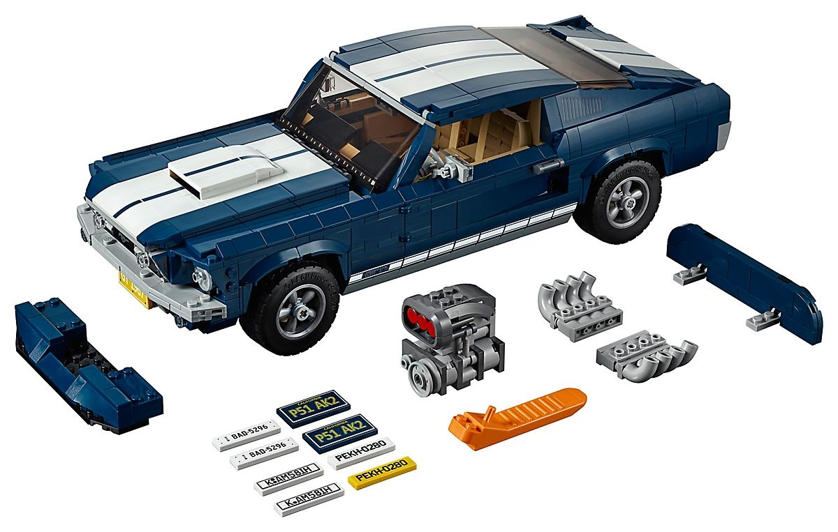 LEGO's 1967 Ford Mustang