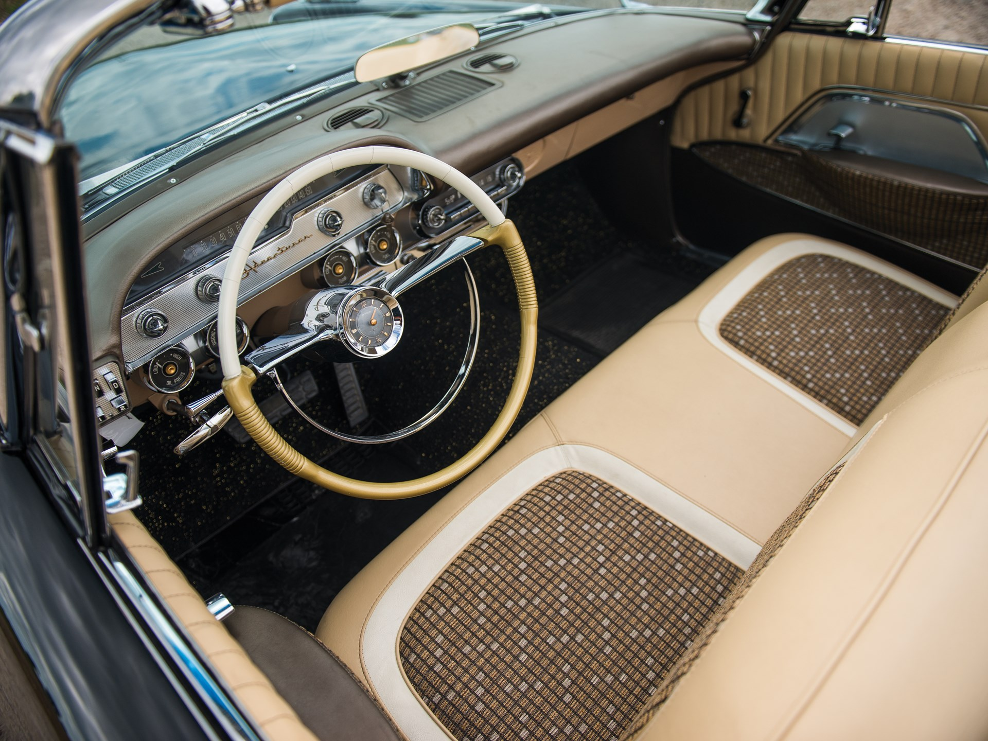 1957 DeSoto Adventurer Convertible interior