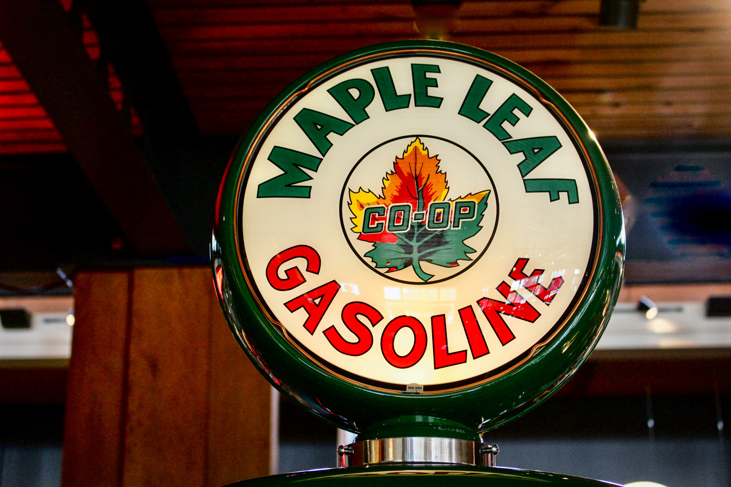 Gasoline Alley maple leaf gasoline