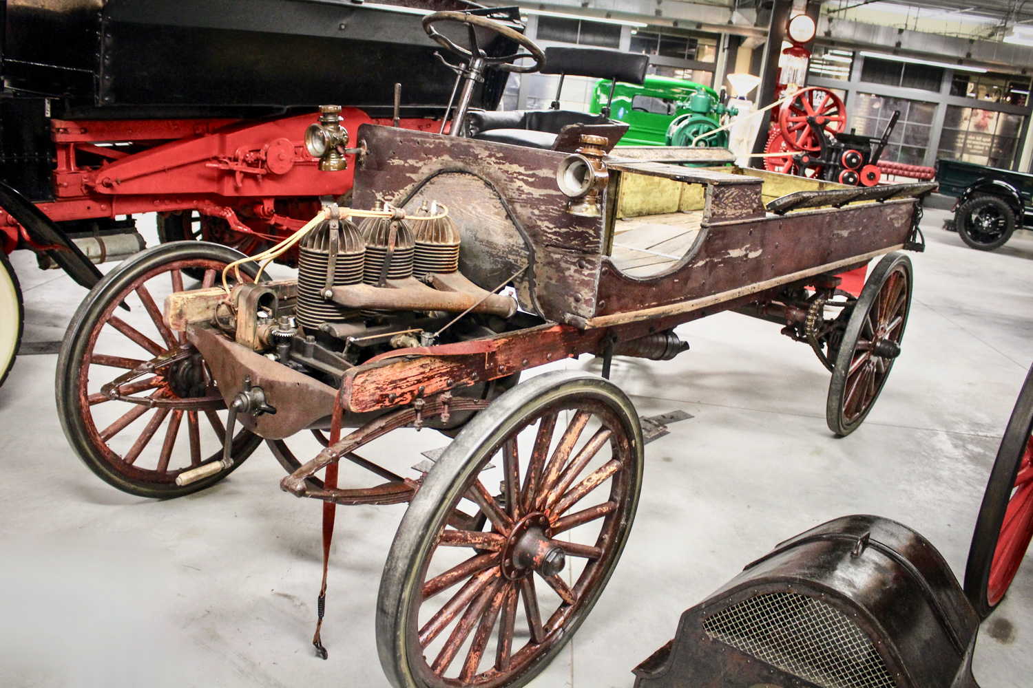 Gasoline Alley wood wagon