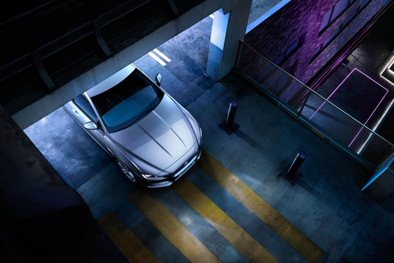 2020 Jaguar XE overhead nose