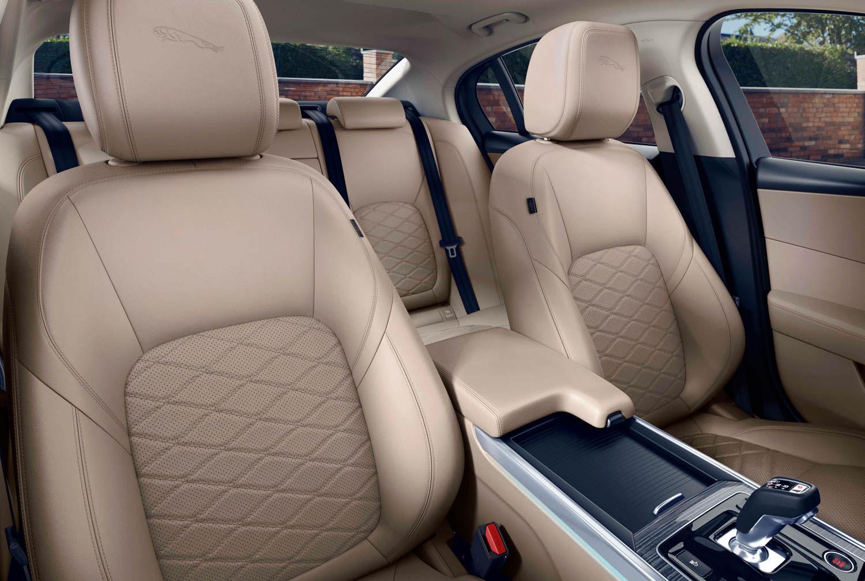 2020 Jaguar XE seat detail