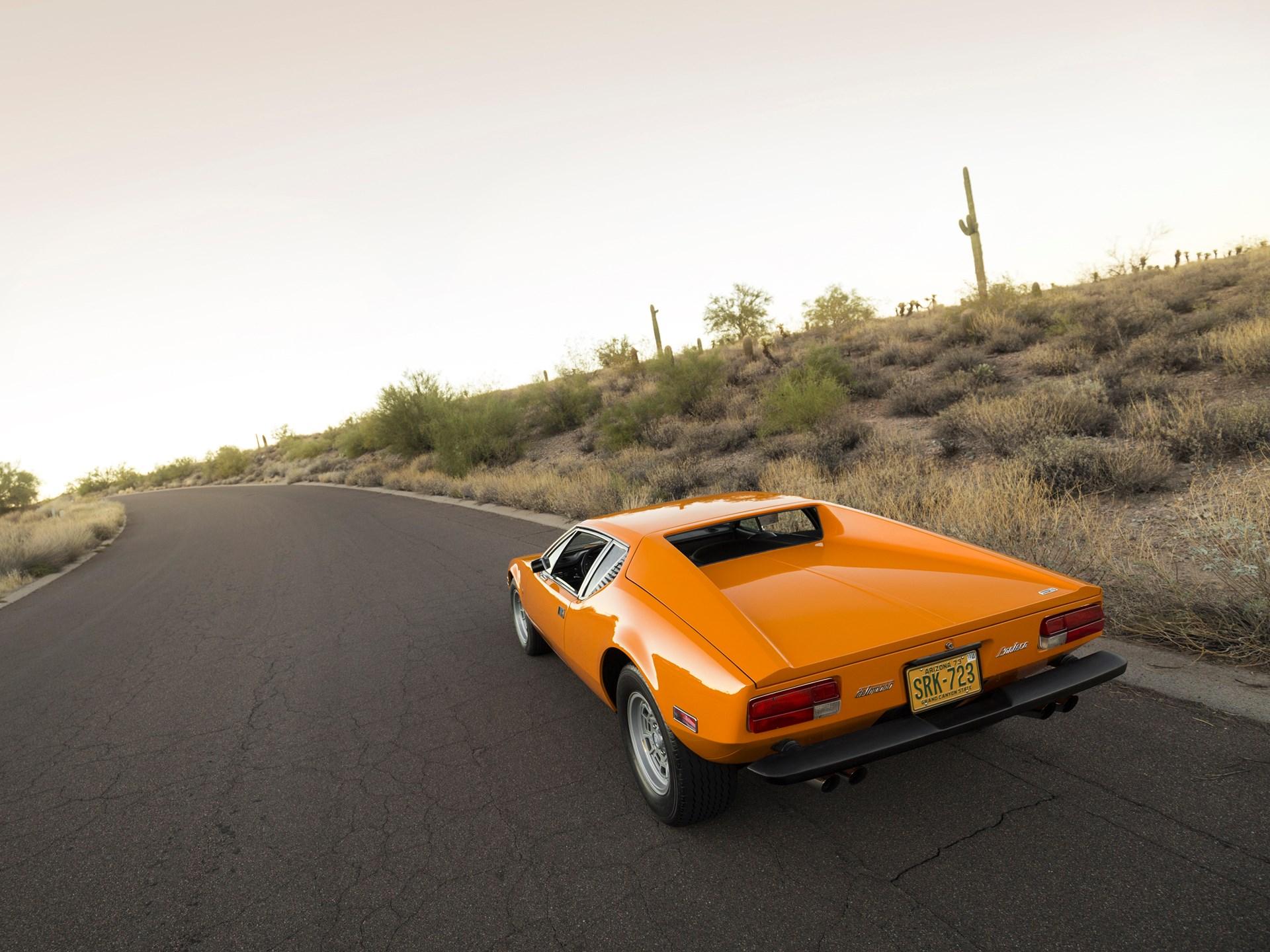 1973 De Tomaso Pantera 3/4 rear high