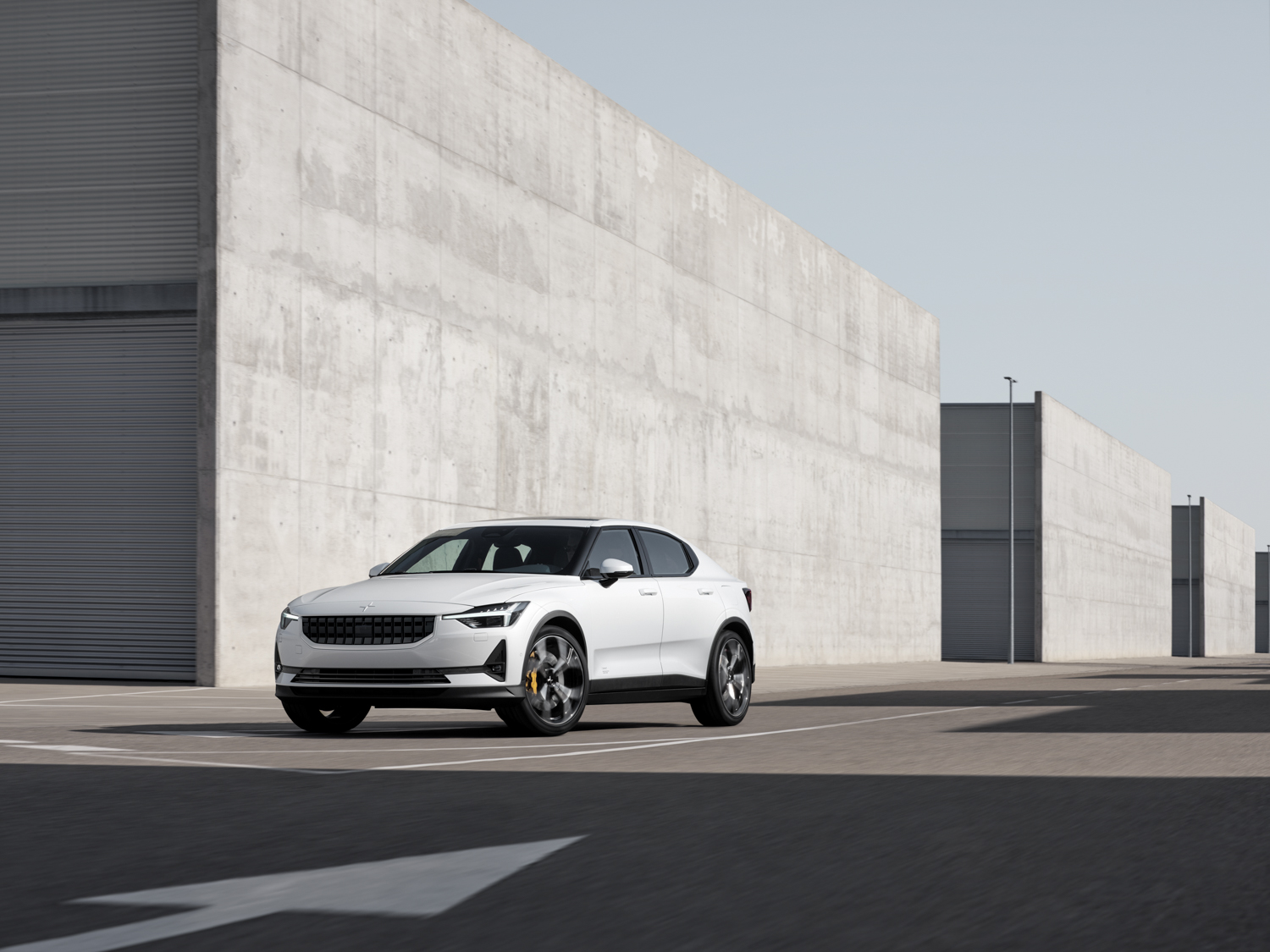 The new all-electric Polestar 2 is a very Volvo challenger to Tesla's Model 3 thumbnail