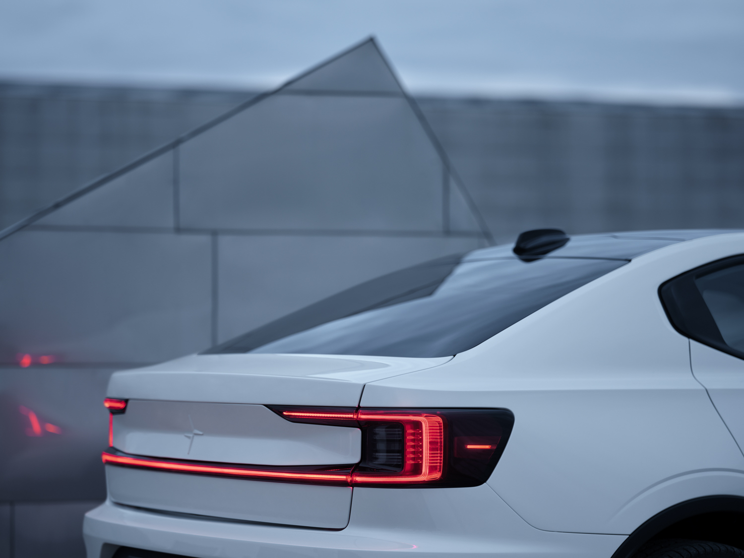 Polestar 2 rear end detail