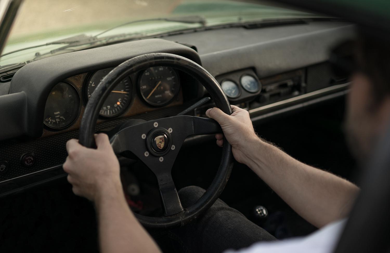 1974 Porsche 914 steering wheel