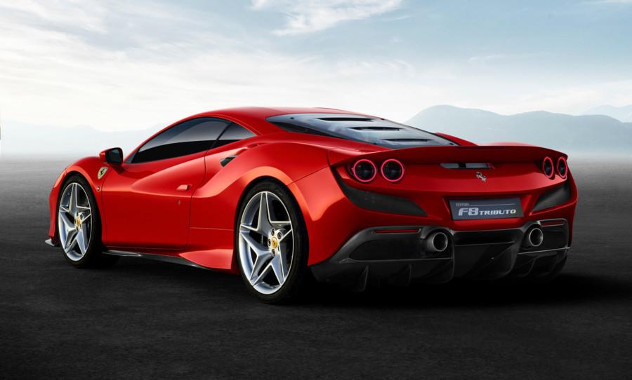 Ferrari F8 Tributo rear 3/4