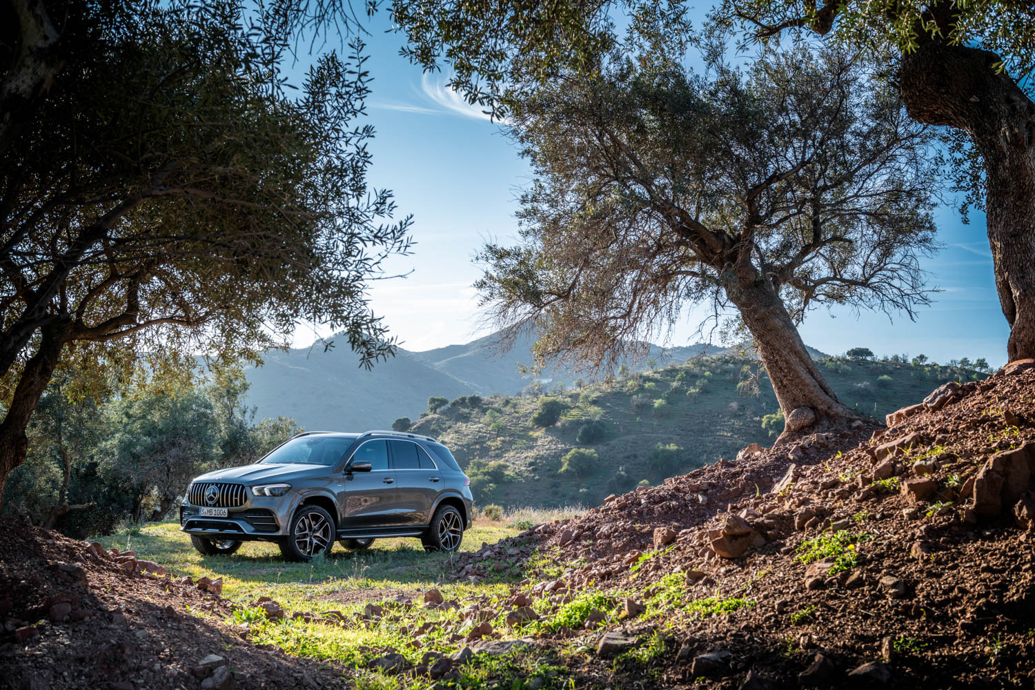 Mercedes-AMG GLE 53 in the mountains