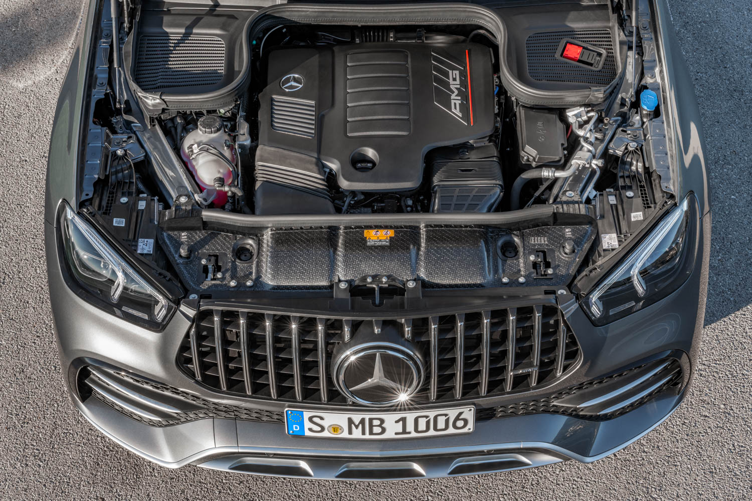 Mercedes-AMG GLE 53 engine
