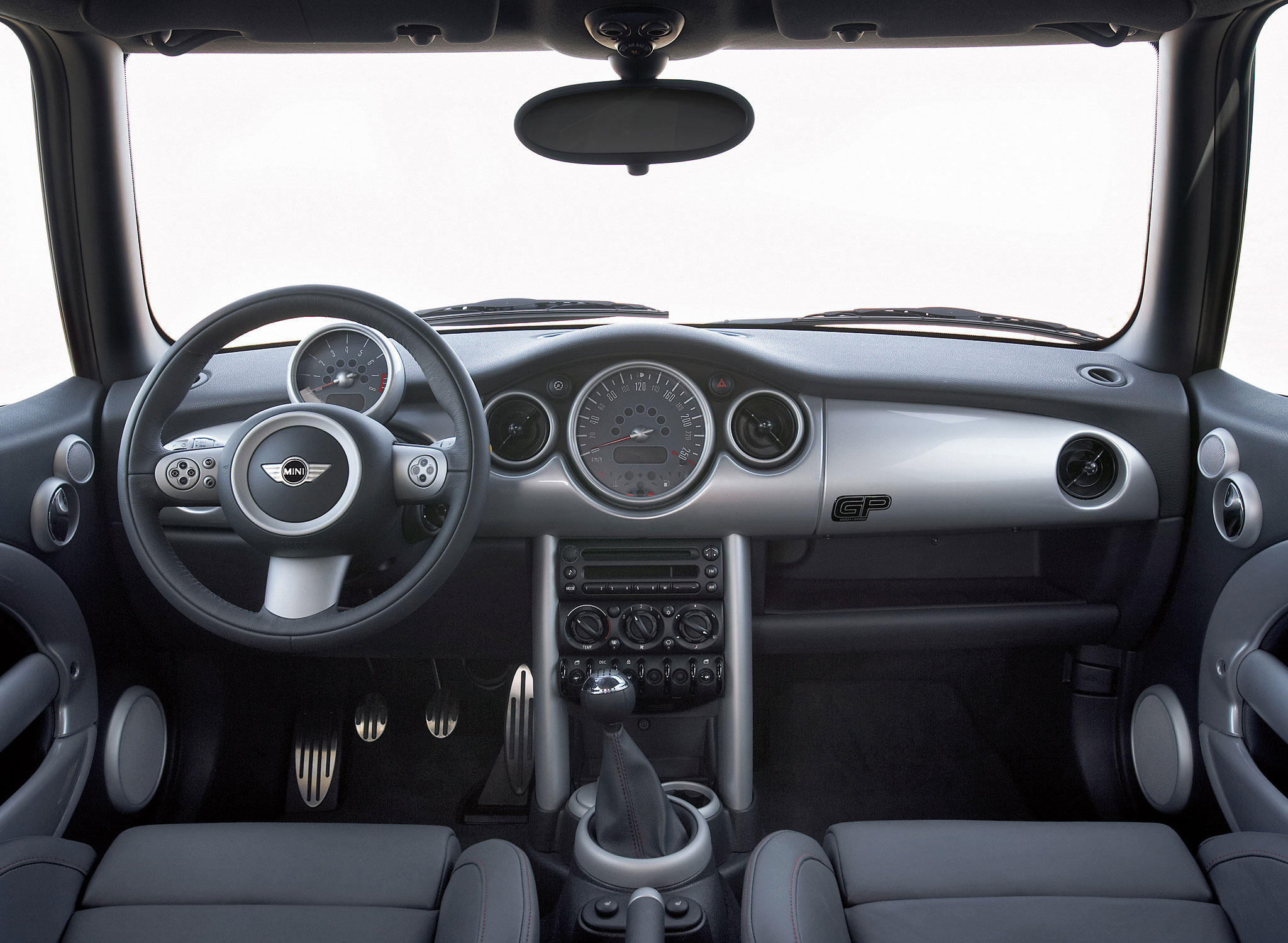 2006 Mini Cooper S John Cooper Works GP interior