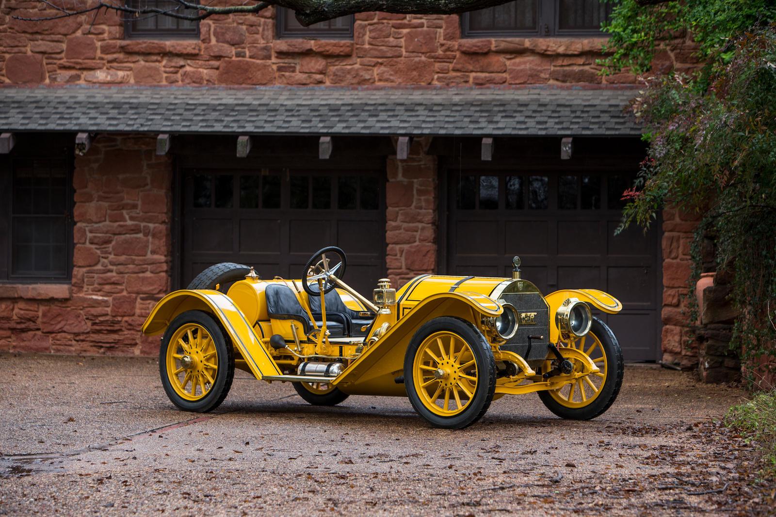 1913 Mercer Type 35J Raceabout yellow