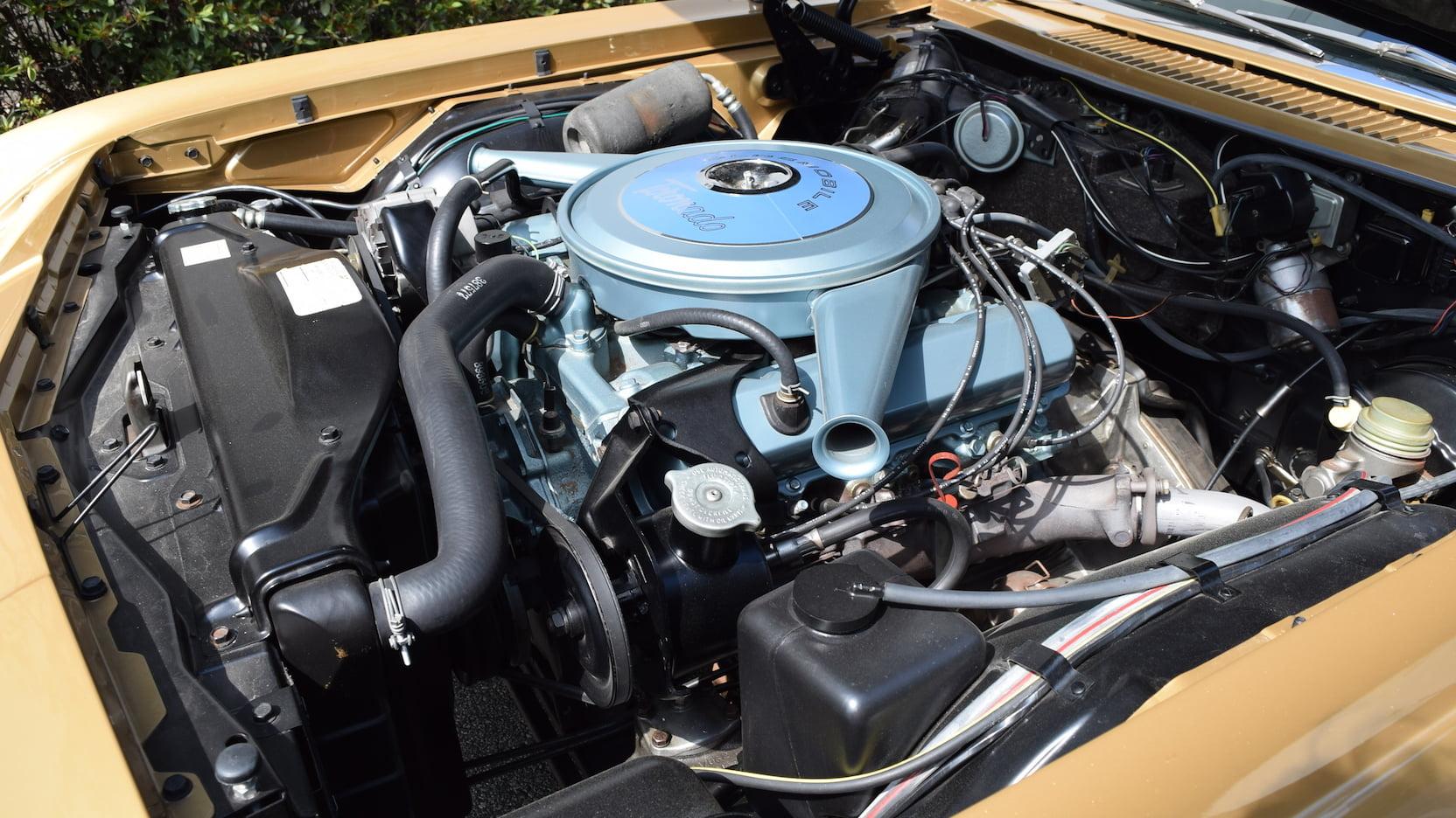 1966 Oldsmobile Toronado engine