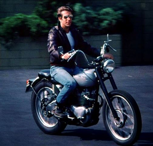 Fonzie didn't wear his trademark black leather jacket in early Happy days episodes because TV sensors determined it made him look like a hoodlum. ABC circumvented the issue by including the motorcycle in as many scenes as possible so it could deem the leather jacket necessary safety equipment.