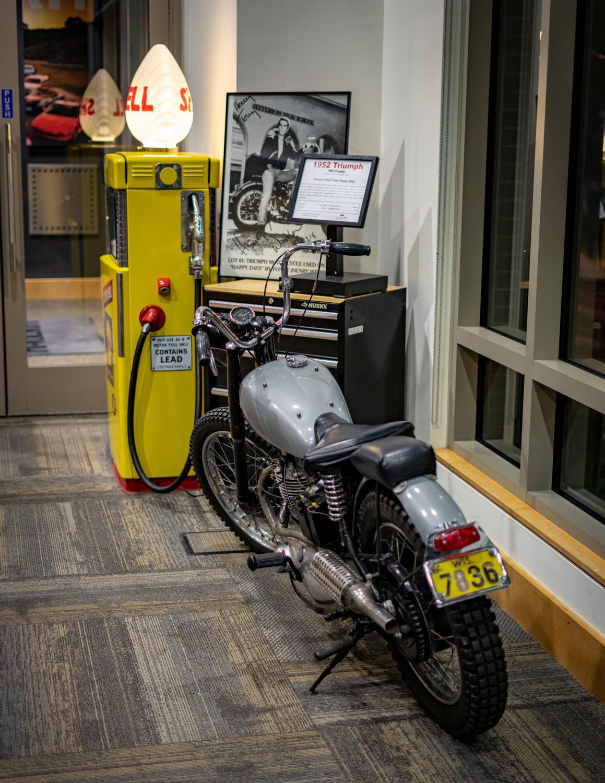 Fonzie triumph motorcycle