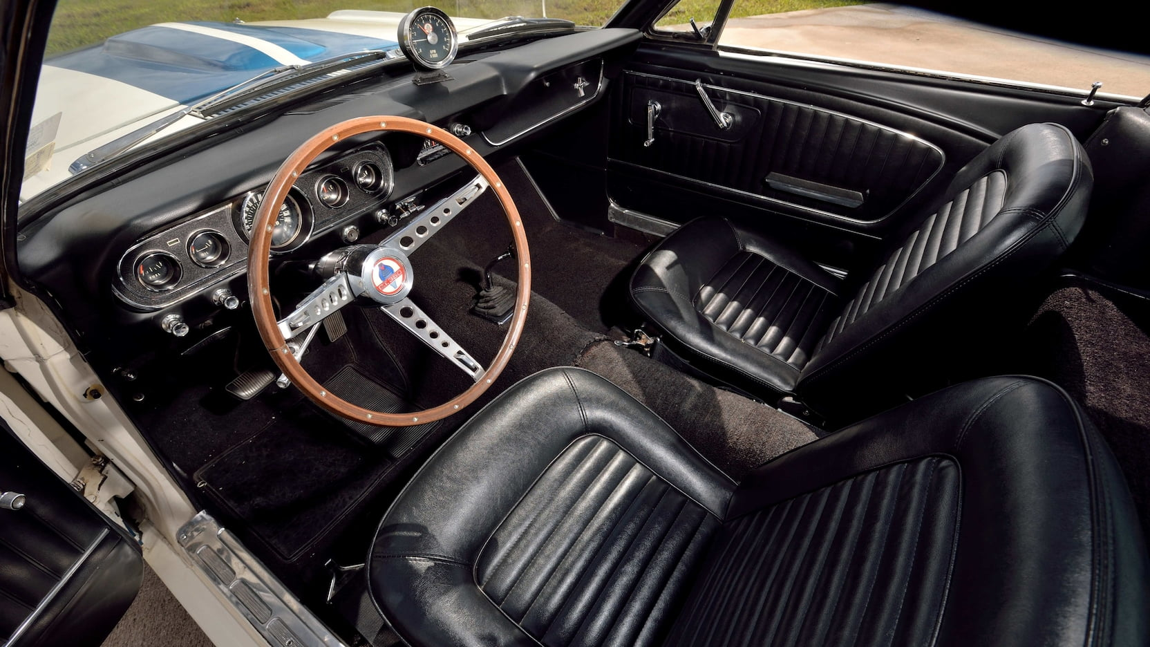 1966 Shelby GT350 interior driver