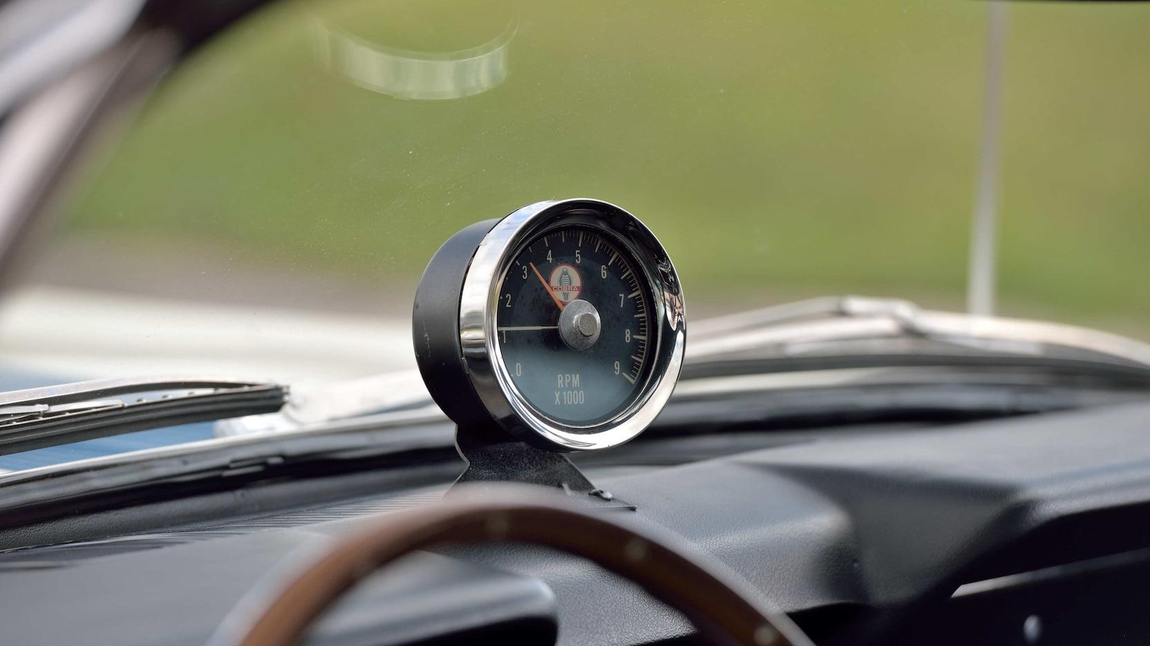 1966 Shelby GT350 tach