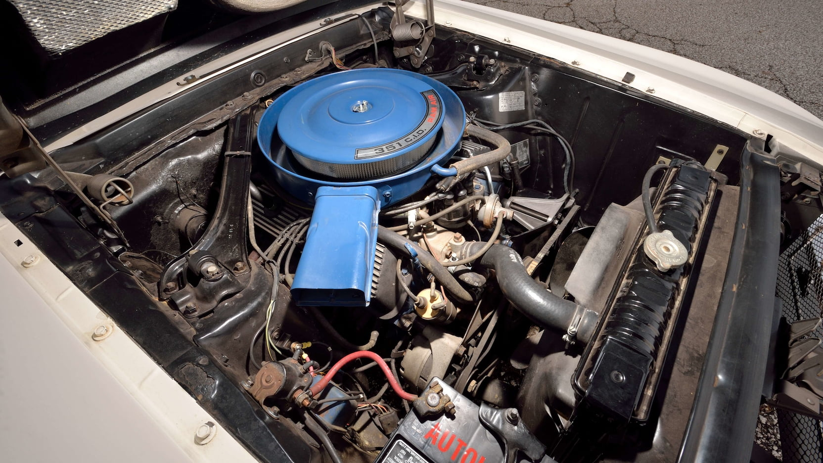 1970 Shelby GT350 engine