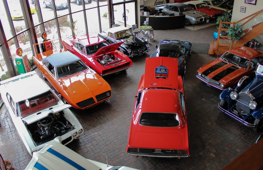Legendary Motorcar Company showroom