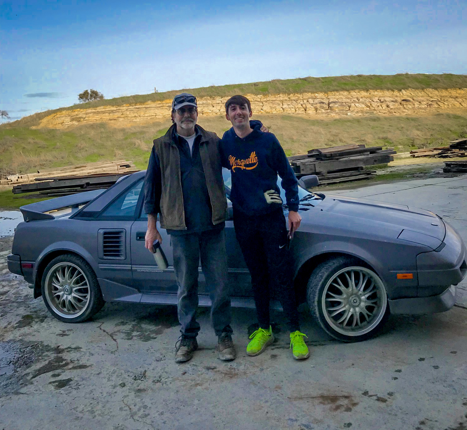 This Supercharged MR2 is a high school sweetheart thumbnail