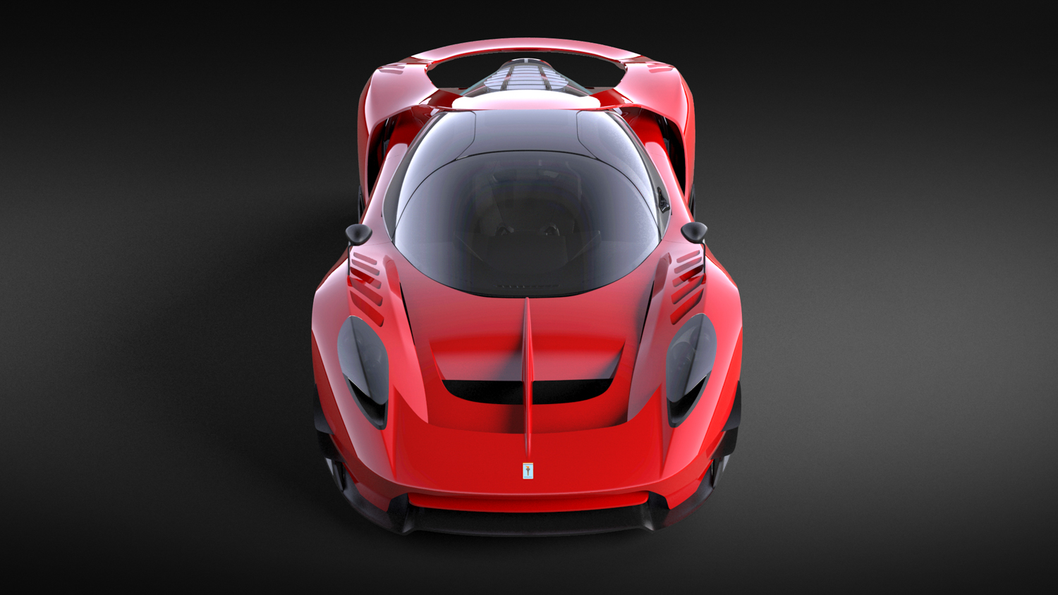 SCG004 red street car