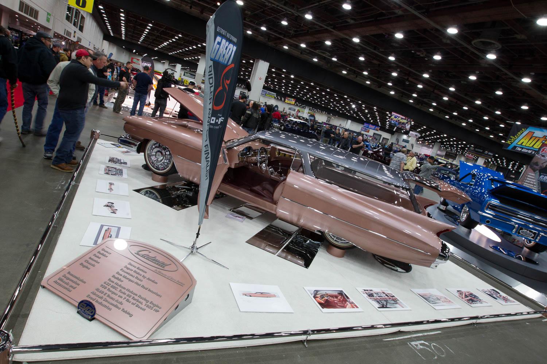 1959 Cadillac Eldorado Brougham display