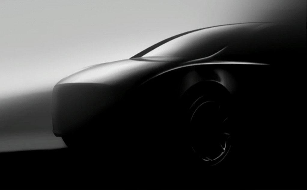 Tesla Model Y front 3/4