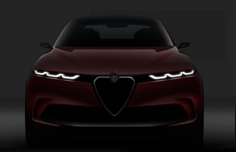 Alfa Romeo Tonale concept front