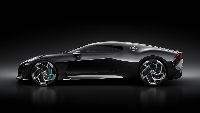 """Bugatti """"La Voiture Noire"""" side profile"""