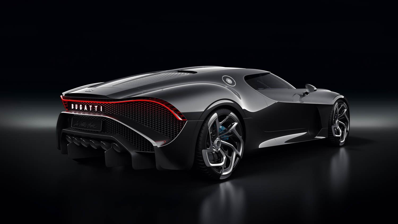 """Bugatti """"La Voiture Noire"""" rear 3/4"""