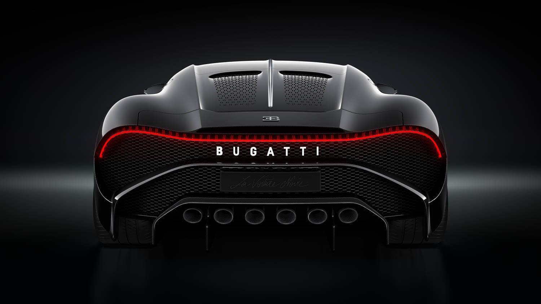 """Bugatti """"La Voiture Noire"""" rear"""